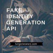 Fake Identity Generation