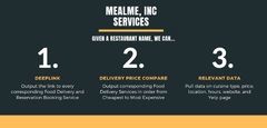 Kayak for Food Delivery and Reservation Booking