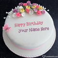 Birthday Cake With Name Generator